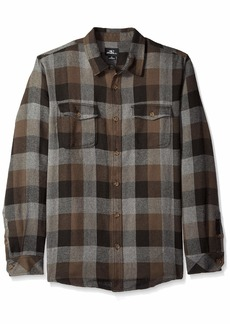 O'Neill Men's Wilong Sleevehire Flannel Shirt  M