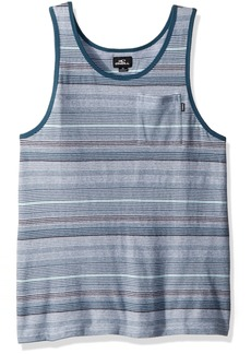 O'Neill Men's Yarn Dye Standard Fit Tank  M