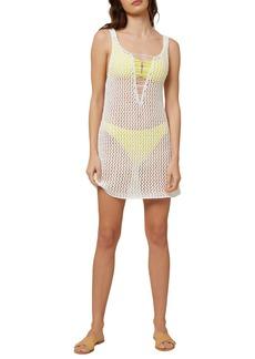 O'Neill Meshin Cover-Up Minidress