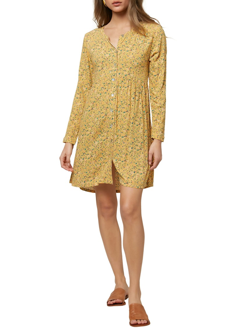 O'Neill Mimi Long Sleeve Dress