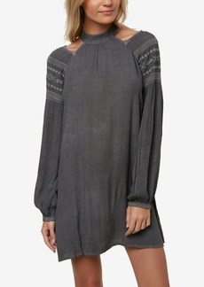 O'Neill Mirage Embroidered-Sleeve Dress