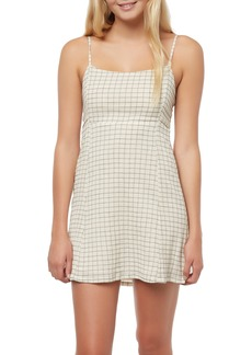 O'Neill Monica Plaid Tank Dress