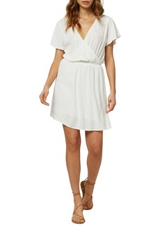 O'Neill Nolita Embroidered Neckline Minidress
