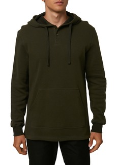 O'Neill Olympia Thermal Henley Pullover Hoodie