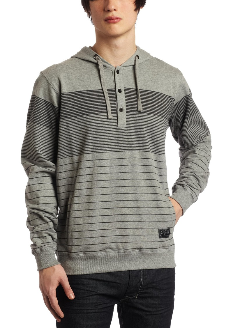 O'NEILL Oneill Men's Ballistics French Terry Pullover Hoodie Gray