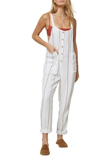O'Neill Pacey Stripe Woven Jumpsuit