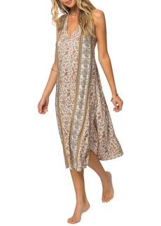 O'Neill Phoenix Print Midi Dress