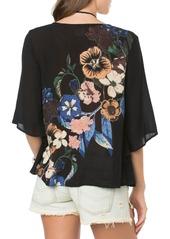O'Neill 'Ramsey' Floral Print Woven Top