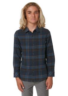 O'Neill Redmond Plaid Button-Up Flannel Shirt (Big Boy)