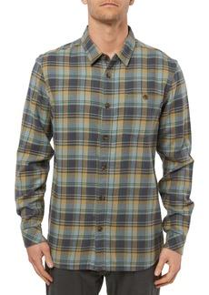 O'Neill Redmond Regular Fit Plaid Flannel Shirt