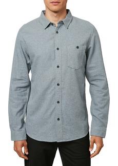 O'Neill Redmond Solid Flannel Button-Up Shirt