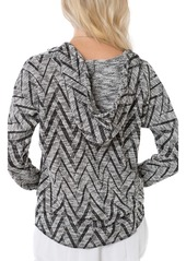 O'Neill Remi Chevron Knit Hooded Pullover