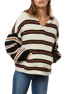 O'Neill Rudder Stripe Hooded Sweater