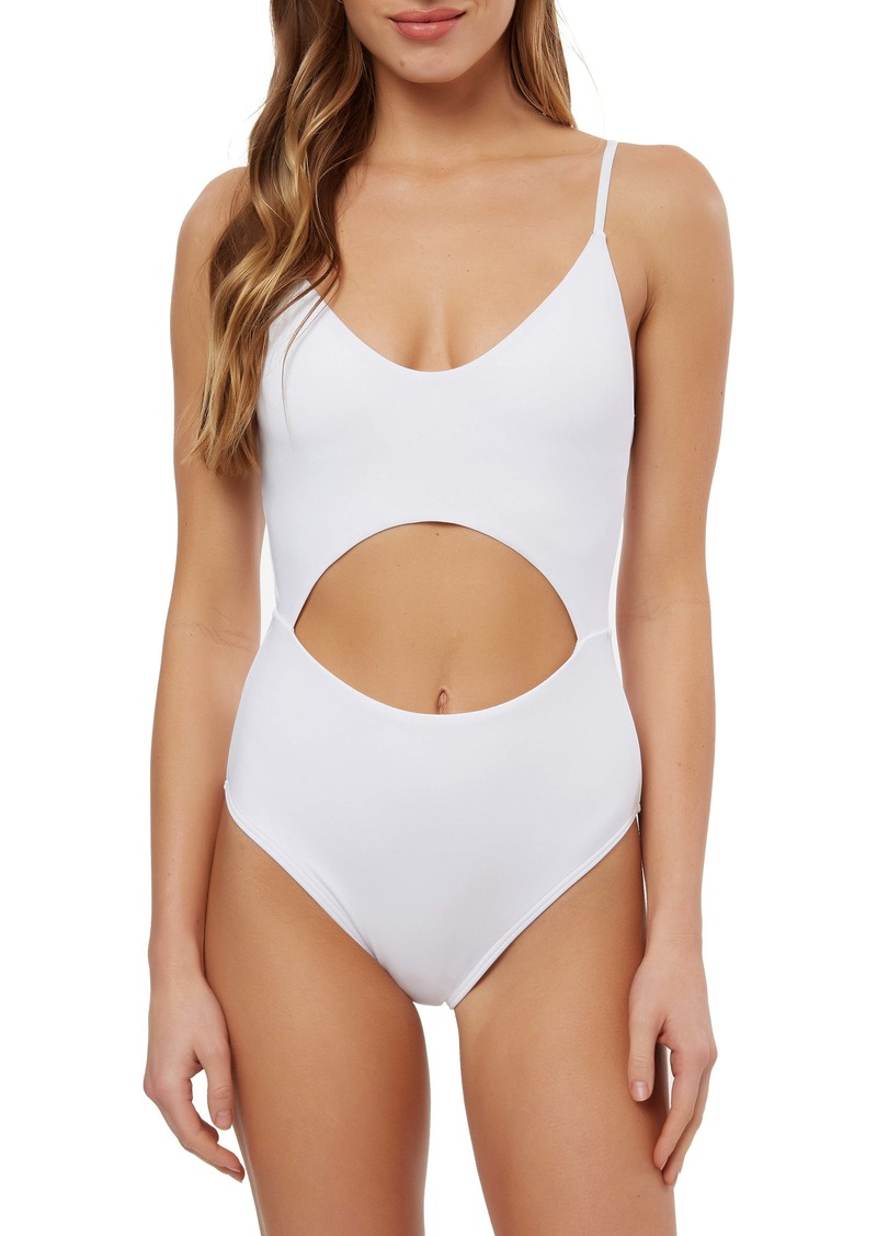 O'Neill Salt Water Solids Cutout One-Piece Swimsuit