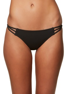 O'Neill Salt Water Solids Strappy Bikini Bottoms