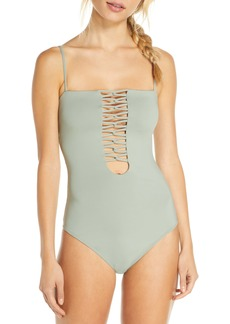 O'Neill Salt Water Strappy One-Piece Swimsuit