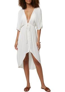 O'Neill Saltwater Shorebreak Crinkle Cover-Up Dress