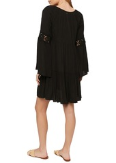 O'Neill Saltwater Solids Long Sleeve Cover-Up Tunic Dress