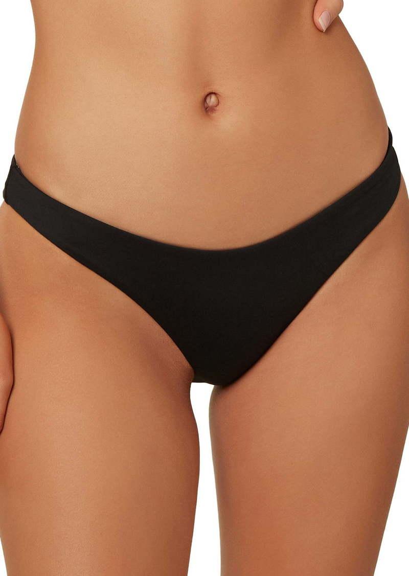 O'Neill Saltwater Solids Hi-Leg Bikini Bottoms