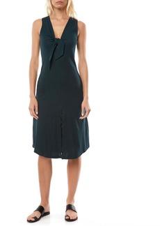 O'Neill Sandra Knot Front Knit Tank Midi Dress