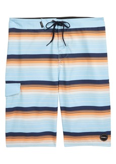 O'Neill Santa Cruz Stripe Board Shorts (Big Boy)