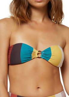O'Neill Sapa Stripe Bandeau Bikini Top