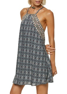 O'Neill Shawna Square Neck Trapeze Dress