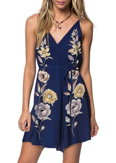 O'Neill Shawnie Floral Print Woven Dress