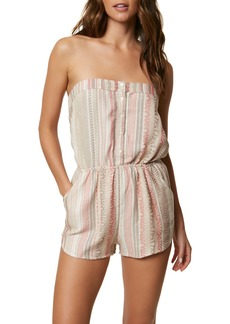 O'Neill Shayla Strapless Romper