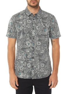 O'Neill Short Sleeve Print Camp Shirt