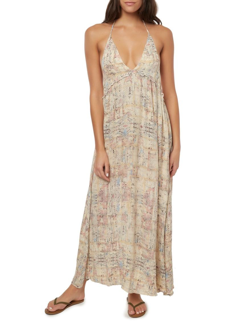 c73e395ec8 O'Neill O'Neill Silana Halter Maxi Dress | Dresses