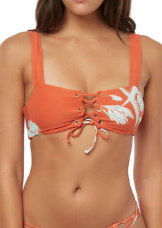 O'Neill Slater Lace-Up Bikini Top