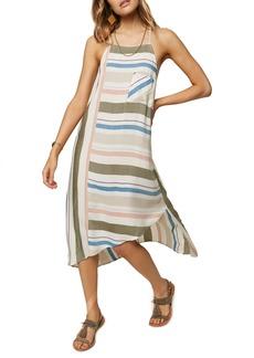 O'Neill Sorbet Stripe Midi Dress