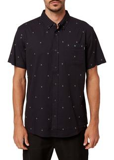 O'Neill Tame Dobby Standard Fit Short Sleeve Button-Down Shirt