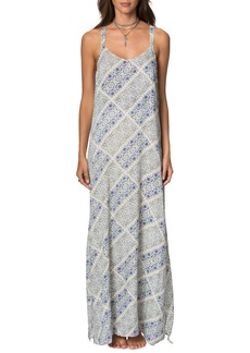 O'Neill Tessie Print Maxi Dress