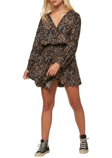 O'Neill Tylee Floral Long Sleeve Dress