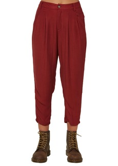 O'Neill Waylon High Waist Woven Crop Pants