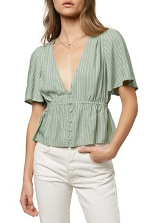 O'Neill Wes Woven Top