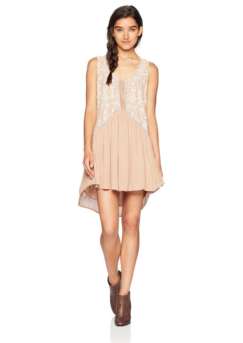 O'NEILL Women's Akemi Scoop Neck Dress  L