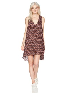O'Neill Women's Alaska Woven Tank Dress Brown S
