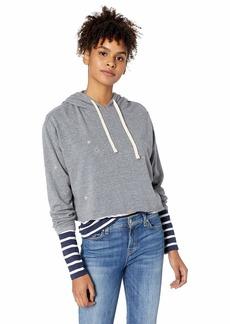 O'Neill Women's Allendale Cropped Fleece Pullover  XL