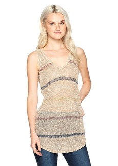 O'Neill Women's Astoria Sweater Tank Stucco-STK L