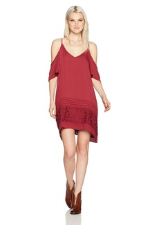 O'Neill Women's Balboa Cold Shoulder Dress Rhododendron-Wne S