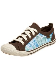 O'NEILL Women's Beacons Canvas Lace Up Vulcanized Sneaker M US