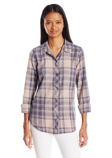 O'Neill Women's Birdie Plaid Shirt  M