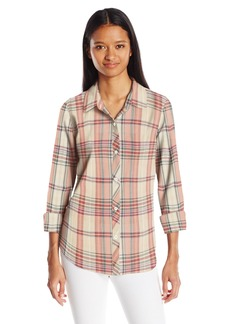 O'Neill Junior's Birdie Plaid Shirt  S