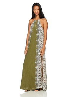 O'Neill Women's Brinkley Woven Maxi Dress  L