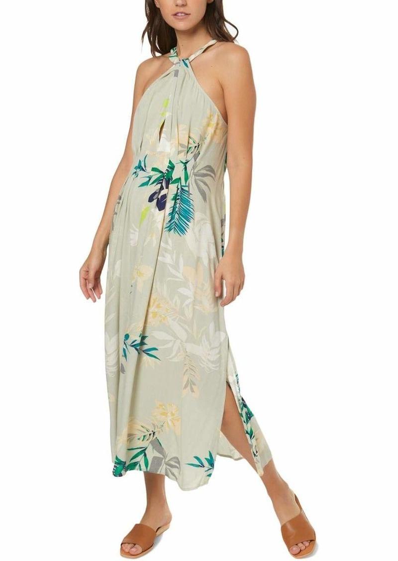 O'NEILL Women's Byronne Woven Midi Dress  S