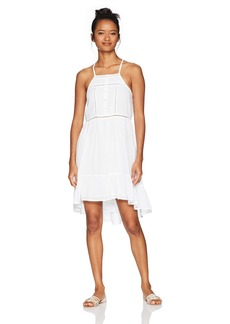 O'Neill Women's Cascade Ladder Lace Dress White/White L