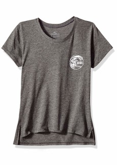 O'Neill Women's Chill Graphic Screen Print Tee Shirt  L